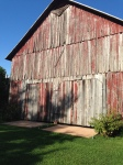 Vintage Red Tobacco Barn
